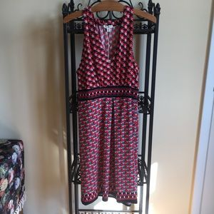 Max Studio Retro Print Tank Dress - NWT